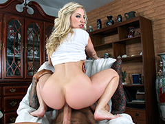 Huge ass on a white girl for anal sex